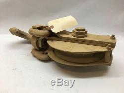 10 Ton Snatch Block Ulven Skookum 5/8 Wire Rope Tackle Block 11631726