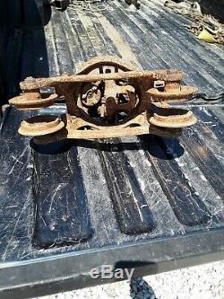 1803 Louden Junior Hay Trolley