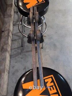 ANTIQUE HAY CARRIER TROLLEY PULLEY BARN MULTIUSE VINTAGE WITH 30 Track Included