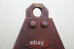 Antique Cast Iron Barn Door Pulley Heavy Duty 4000 lb Door Roller hardware hoist