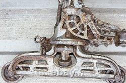 Antique Cast Iron FE MEYERS & Bros Barn Hay Trolley Draft Unloader Pat. 1905 #303