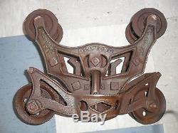 Antique Diamond Hay Trolley Provisonial Pat. 1893