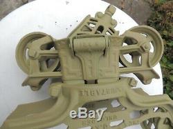 Antique F. E. Meyers & Bro, Clover Leaf, H321, H527 Ashland Hay Trolley, Unloader
