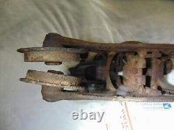 Antique F. E. Myers Clover Leaf Hay Trolley with Myers Brass Label