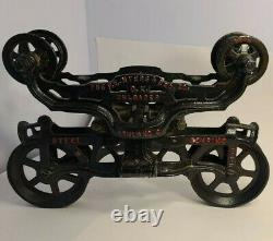 Antique FE Myers Hay Unloader Trolley Fantastic Condition, Excellent Display