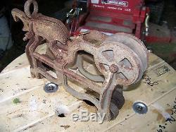 Antique Farm tool Hay Trolley