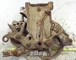 Antique Hay Trolley, Beam Trolley, Pulley