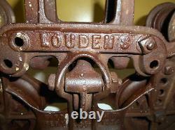 Antique LOUDENS Hay Trolley Estate Find