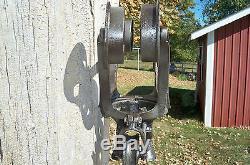 Antique Ney Mfg. Co. Climax Barn / Hay Trolley