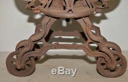 Antique Rare early hay trolley barn unloader collectible display farm tool lot