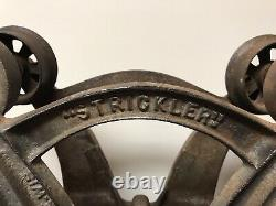 Antique Strickler Cast Iron Hay Loader