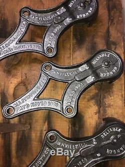 Antique Vintage Cast Iron Barn Door Rollers