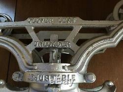 Antique Vintage Myers Cloverleaf Hay Trolley & Pulley Ashland Ohio Older Restore