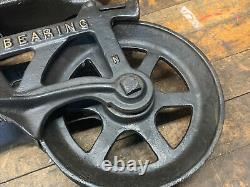Antique/primitive F. E Myers Hay Trolley Rustic Decor