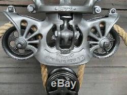 Antique/primitive Porter Hay Trolley Original Restored Rustic Decor Lighting