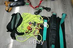 Buckingham Lot rope pulley rock climbing gear petz hooks (28 pieces)