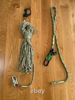 Buckingham OX Block Clevis Top with Sling and OX Hook Hand Line lightly used