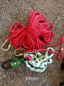 Buckingham Ox Block Used 3.6m gate with rope whole kit