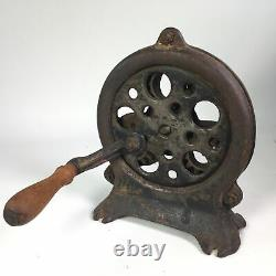 Cast Iron Rope Maker Machine The Hawkeye Antique Minneapolis with Knotting Key