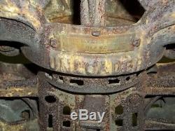 Cloverleaf Hay Trolley Unloader F. E. Myers & Bro Ashland OH