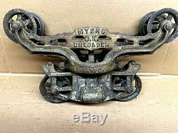 F. E. Myers & Bro. Trolley Barn Hay Carrier Unloader H425