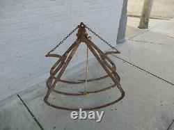 F. E. Myers H422 HAY FORKS BARN TROLLEY TRIPPLE GRAPPLE LOFT FORKS HAY CARRIERS
