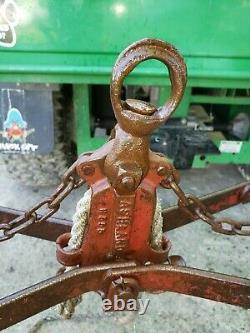 F. E. Myers HAY (GRAPPLE FORKS) CLAW HAY FORKS, Original Red paint