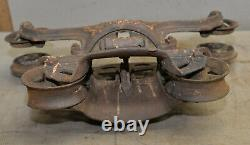 F. E. Myers hay Ok unloader vintage farm collectible barn trolley tool
