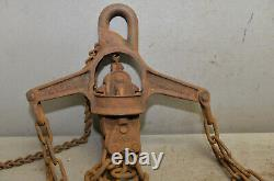 F. E. Myers hay unloader grapling claw head collectible barn trolley part tool