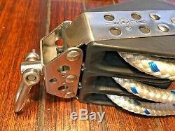 Gently Used Harken 61 Midrange Hexaratchet 3800#swl Main Sheet, Block & Tackle