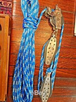HARKEN 51 HEXA-RATCHET MAIN SHEET, VANG, BLOCK AND TACKLE With60' 3/8 LINE