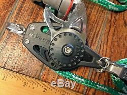 Harken 61 57mm New Ratchamatic Main Sheet, Vang, Block&tackle, Pulleys