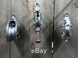 Hay Trolley F. E Myers Antique Pulleys