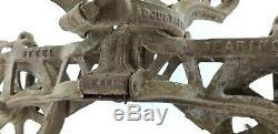 Large FE Myers Bros Vtg OK Unloader Hay Trolley Carrier Barn Pulley Antique Farm