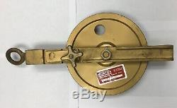 Latch Type Hay Pulley for. 092 Oilfield Wireline, NEW & UNUSED
