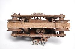 Louden Junior Antique Hay Trolley New Old Stock w Tag Original Paint