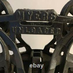 MYERS Unloader Hay Trolley, Amazing Condition, Minimal Wear, Excellent Display