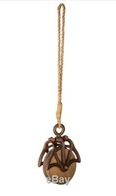 Metal Rope & Pulley Antique Vintage Industrial Steampunk Decor