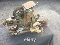 Myers Hay Carrier/trolly With Pulley