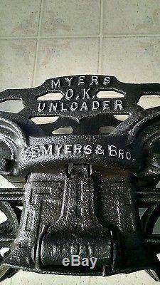 Myers Hay Unloader Completely Refurbished EC Antique Vintage Farm and Barn