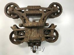 Myers Unloader Hay Trolley H-321With Pulley