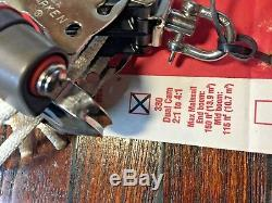 NEW HARKEN 330 TWO SPEED FINE/GROSS 41 MAIN SHEET, BLOCK AND TACKLE With40' LINE