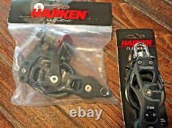 NEW! HARKEN 60MM ELEMENT 41 MAINSHEET, VANG, BLOCK/TACKLE With40' NEW 3/8 LINE