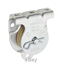 National Hardware N233-247 1-1/2in. Wall / Ceiling Mount Single Pulley