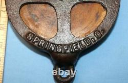 Old Antique Large SUPERIOR DRILL 80 Barn Hay Trolley Line Pulley Springfield OH
