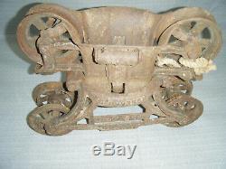 Original F. E. Myers&Bro O. K Unloader Hay Trolley Ashland Ohio 1880s Antique