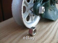 ++ Porter Hay Trolley Barn Tool Vintage Pulley ++