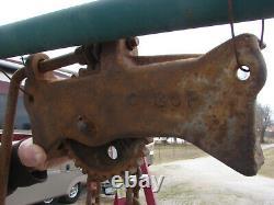 Rare 1900's Hoist Mining / Farming / Industrial