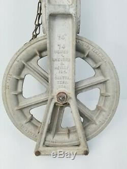 Sherman and Reilly Aluminum Pulley 14 74 Series