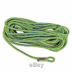 Tree Climbers Block & Tackle Set with50' Rope, Generates 51 Advantage, 4 Pulley